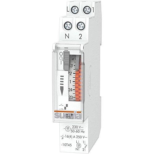 Suevia Dino One RD Hutschienen-Zeitschaltuhr analog 230 V/AC 16 (4) A/250V