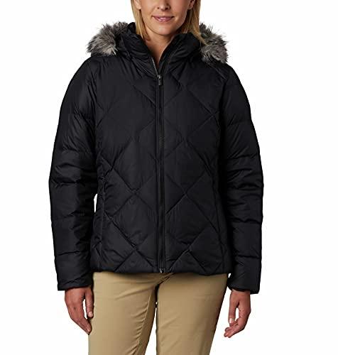 Columbia Women's ICY Heights II Down Jacket, Black, Medium