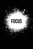 Focus Black 注意看板メタル安全標識注意マー表示パネル金属板のブリキ看板情報サイントイレ公共場所駐車ペット誕生日新年クリスマスパーティーギフト