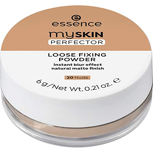 essence my SKIN PERFECTOR LOOSE FIXING POWDER 20 Nude - 1er Pack