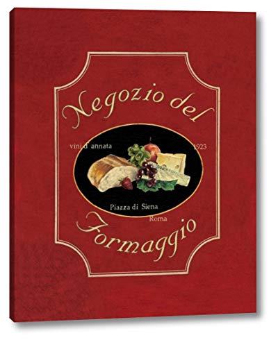 Negozio del Formaggio by Catherine Jones - 30' x 38' Canvas Art Print Gallery Wrapped - Ready to Hang