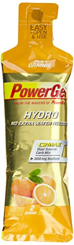 PowerBar PowerGel Hydro Orange 24 Stck, 1er Pack (1 x 1.824 g)