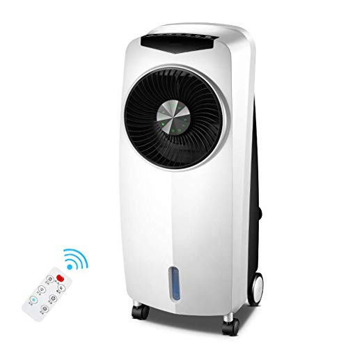 3-in-1 Air Cooler Ventilator Fan Radiator Mobile Humidifier Air Purifier 110W-white Cool summer
