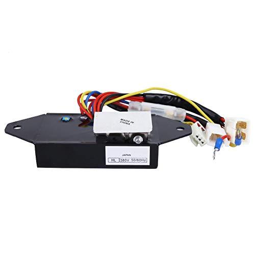 Regulador de voltaje 380V, Regulador de voltaje Generador AVR para J310 J313 J315 J318 J320 J324,8,5-20 kVA 50/60 Hz Regulador de voltaje Grupo electrógeno Regulador AVR