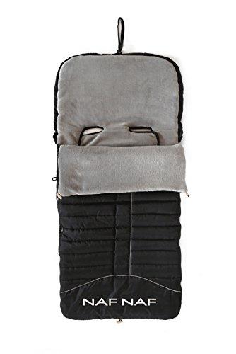 Schlafsack für Kinderwagen im lässigen Design (Stoff innen aus Polar und außen mit Wasser und Wind).