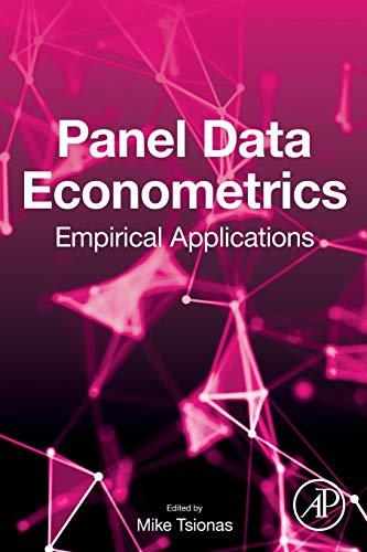 Panel Data Econometrics: Empirical Applications