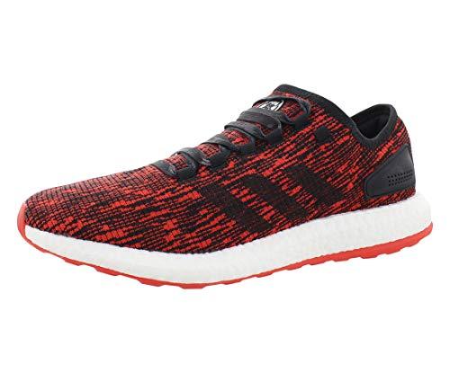 adidas Pure Boost Zapatos de Hombre, rojo (Rojo/Negro/Blanco), 44 EU