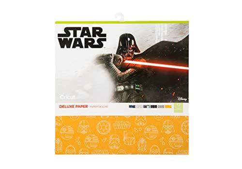 CRICUT INC 2005865 Deluxe Paper Sampler, Star Wars una Nueva Esperanza, Talla única