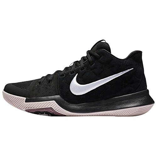 Nike Kyrie 3 Basketball Shoes Kyrie Irving Mens (14, Black/White-silt Red)