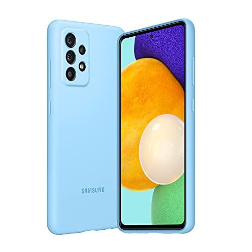 SAMSUNG A52 - Cover in Silicone Blu