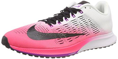 Nike Wmns Air Zoom Elite 9, Zapatillas de Running para Mujer, Rosa (Racer Pink/White/Vivid Purple/Black), 38.5 EU