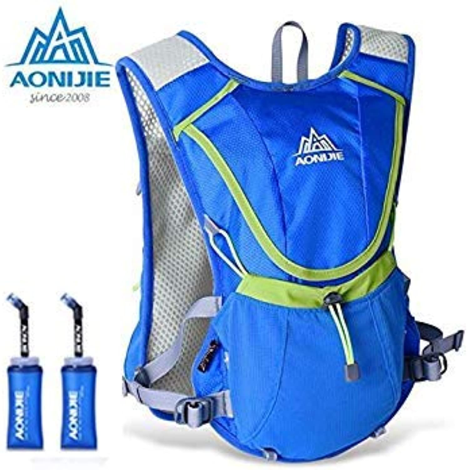Olny Bag Black   AONIJIE Lightweight Running Backpack Outdoor Sports Marathon Cycling Hiking Bag with Optional 1.5L Hydration Water Bag