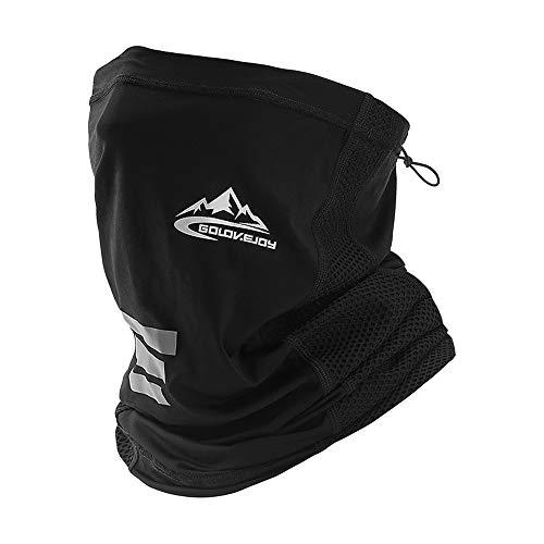 UV STYLISH Multifunktionstuch Herren Schnelltrocknend Atmungsaktiv Weich - Gesichtsmaske Damen Super Elastisch Sonnenschutz Verschleißfest Schlauchschal Halstuch Maske für Motorrad Laufen Wandern…