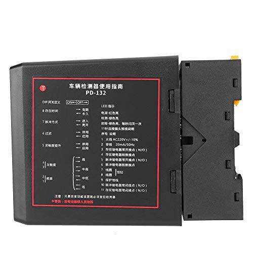 Tonysa Detector de Bucle de vehículo Profesional, Detector de Bucle de vehículo inductivo de un Solo Canal, Detector de vehículo de Tiempo de Pulso