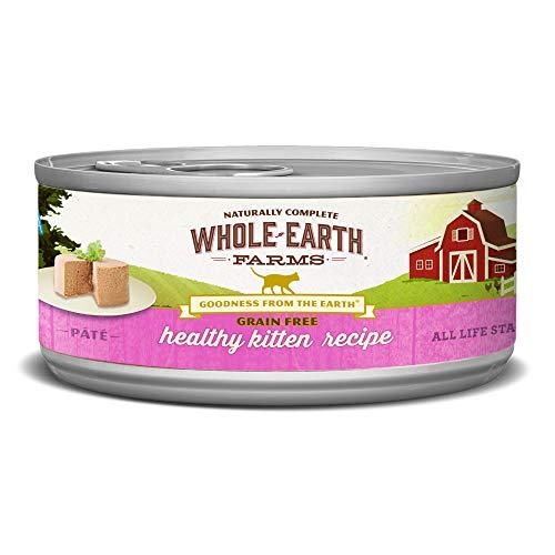 Whole Earth Farms Grain Free Wet Cat Food Kitten   Chewy