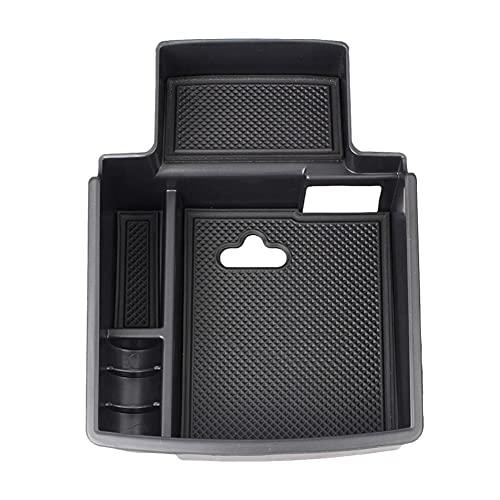 Apoyabrazos para coche Para Audi Q5 8R 2008-2016 2017 Caja de almacenamiento de reposabrazos y caja de almacenamiento lateral de puerta Organizador de consola central Caja de reposabrazos de coche
