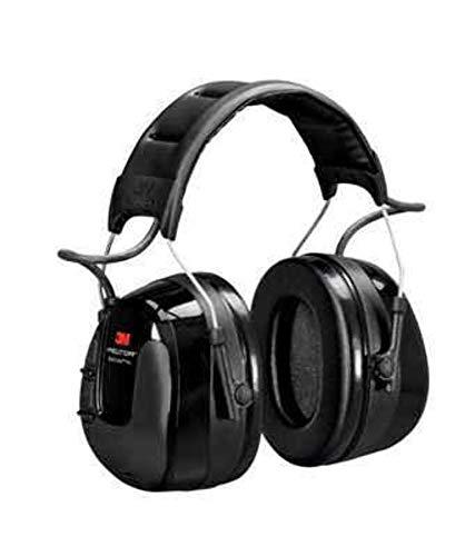 3M PELTOR WorkTunes Pro AM/FM Radio Headset, 32 dB, Black, Headband, HRXS221A