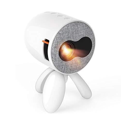 Mini Beamer - Artlii Octopus Klein Beamer als Geschenk für Kinder Mini Projektor kompatibel mit Smartphone, Laptops, iPad, PC unterstützt Bilder, Karikatur und andere Kinderaktivitäten