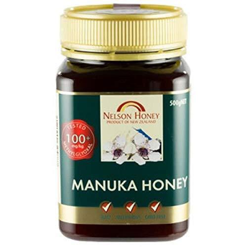 Nelson Honey 100+ SILVER Manuka Honey 500 g (order 6 for trade outer)