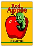 Hunnry Red Apple Cigarettes Poster Metall Blechschilder