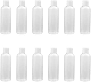 Beaupretty 4 Oz Plastic Empty Bottles with Flip Cap, Refillable Squeeze Bottles Travel Containers for Toiletries Lotions C...