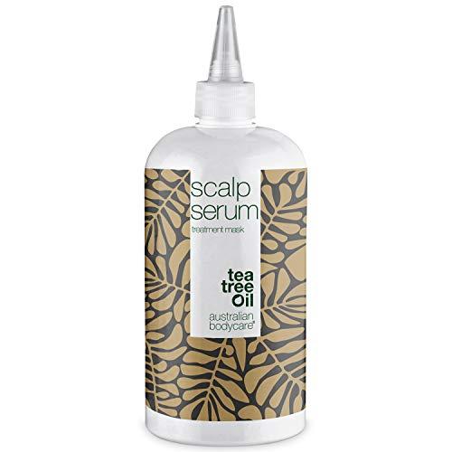 Tratamiento para cuero cabelludo de Australian Bodycare 500 ml | Humectante con aceite de árbol del té para caspa, picazón, sequedad y escamación | Cuidado diario para psoriasis o eczema | 100% vegano