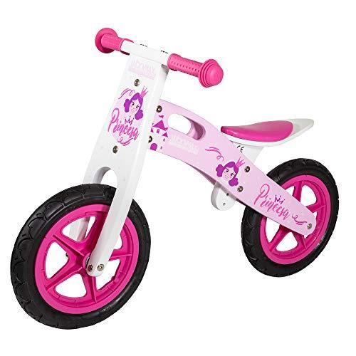 WOOMAX - Bici sin pedales en madera modelo Princesas 12