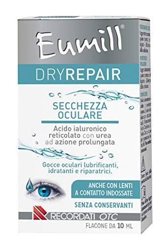 Eumill Gocce Oculari Recordati Dryrepair, Multicolor, 10 Millilitri