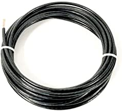 JumpingLight 25 FEET THHN THWN-2 8 AWG Gauge Black Stranded Copper Building Wire VW-1 Cables Electronic Stranded Wire Cable Electrics DIY