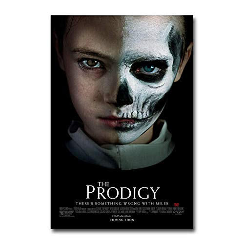 Mural Poster And Prints The Prodigy Movie Silk Fabric Poster Art Decor Indoor Painting Gift-20X30In No Frame