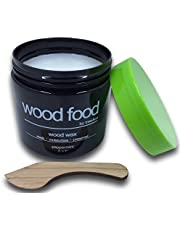 """Wood Food"" 天然艶出し蜜蝋ワックス (ミント, 180ml)"