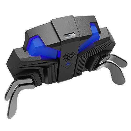 erticvtiu botón trasero, botón trasero para mando S-O-N-Y PS4, con función turbo de llave extendida, para adaptador de mando S-O-N-Y