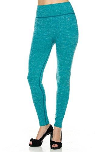 2LUV Colorful Ombre sin costuras Yoga Leggings de la mujer
