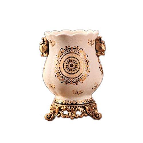 Vase Céramique Modern Living Salle Décoration de Table Cadeau de Mariage Apollo Vase Composition Florale en céramique Accessoires Céramique + résine