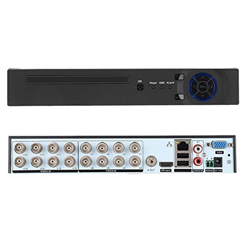 SALUTUYA Sistema de vigilancia Compatible con la grabadora CCTV Web Grabadora de Video Digital Durable para la Seguridad(European regulations)
