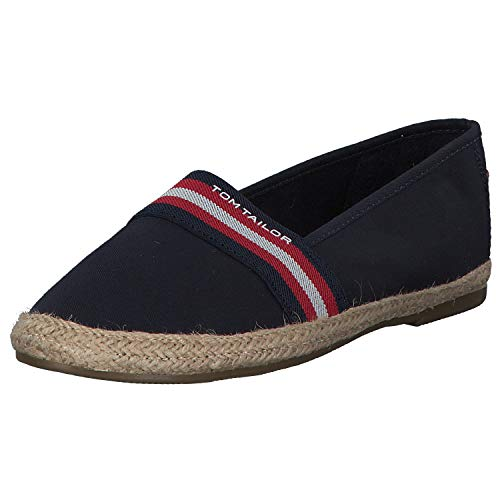 TOM TAILOR Damen 6992015 Espadrilles, Blau (Navy 00003), 38 EU