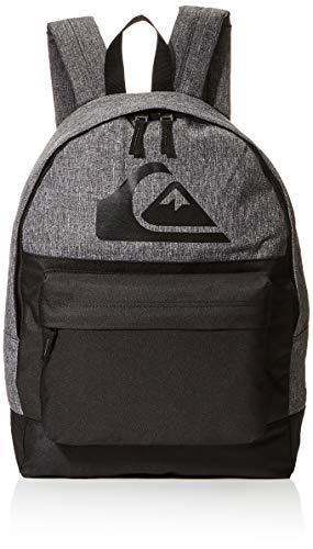Quiksilver Everyday Backpack Color Block, Mochila. para Hombre, Negro, Einheitsgröße