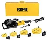 Rems 580040 R220 Curvadora de tubos, Amarillo