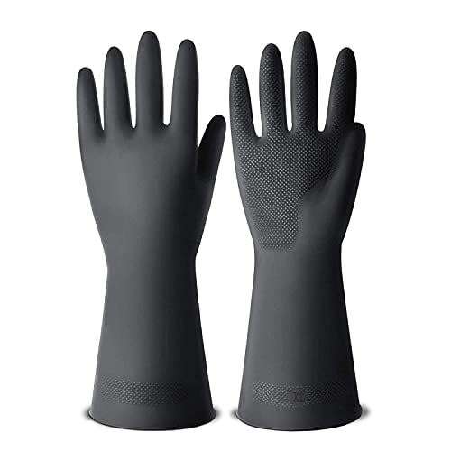 Product Image 9: ThxToms Dishwashing Gloves, 3 Pairs Reusable Latex Cleaning Gloves for Housework, Kitchen, Bathroom, Extra Large