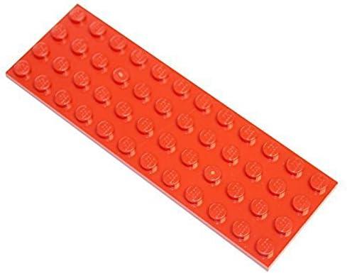 3 Pieces LEGO Parts Plate 4x12 WHITE