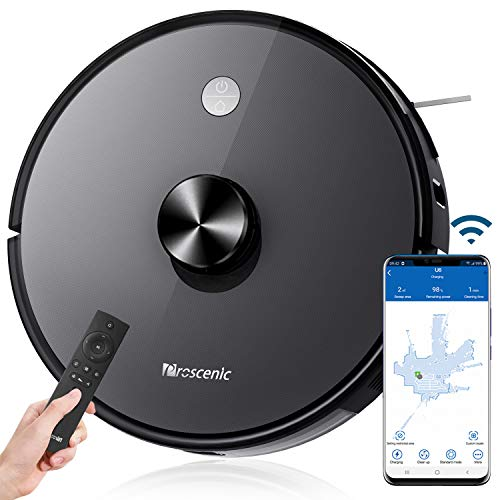 proscenic m7 pro robot vacuum review watch your back irobot Proscenic 2-in-1 Robotic Vacuum Cleaner and Mop 2700 PA Strong Suction Robot Vacuum Cleaner with Self-Charging Works with APP & Alexa Control, Good for Pet Hairs, Carpets, Hard Floor