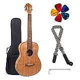 Best Baritone Ukuleles - Kmise Baritone Ukulele Profession Okoume Ukulele Instrument Kit Review