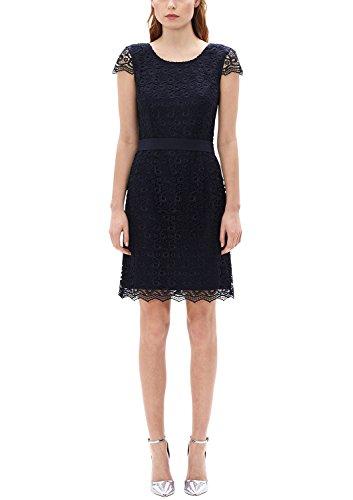 s.Oliver BLACK LABEL Damen Kleid 1899823099, Blau (Deep 5959), 40