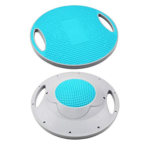 Fantastic Deal! Zebery Wobble Balance Board Exercise Balance Stability Trainer Portable Balance Boar...