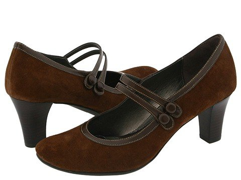 Women's 1920s Shoe Styles and History Dr. Scholls Riley $110.00 AT vintagedancer.com