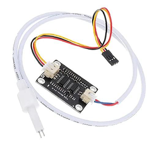 TDS Sensor Meter Conductividad de agua portátil Tester de calidad líquida con 2 cables, sensor