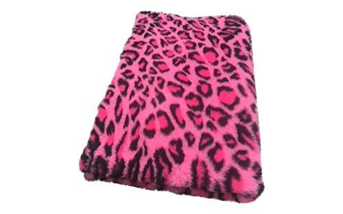 Vetbed original Premium I Leopard rosa-pink I 100 x 150 cm
