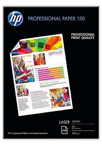 HP Professional CG965A - Papel láser brillante 150