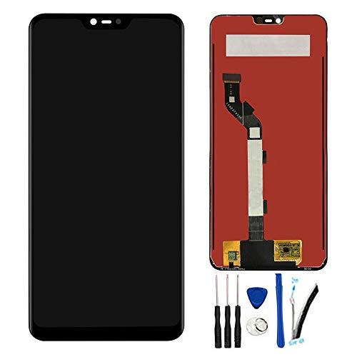 """SOMEFUN Pantalla LCD Repuestos Compatible con Xiaomi Mi 8 Lite 6.26"""" M1808D2TG,M1808D2TE LCD Pantalla Táctil Digitalizador Asamblea de Vidrio (Negro sin Marco)"""