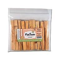 EcuadorianHands Premium Authentic Ecuadorian Palo Santo (Holy Wood) Incence Smudge Sticks 10, Wild Harvested, 100% Natural and Sustainable